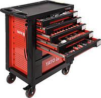 Тележка инструментальная с инструментом 211 предметов YATO YT-55290 (Польша)