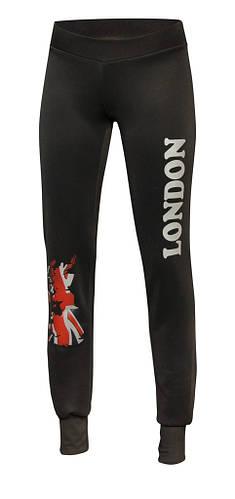 Спортивные брюки на манжетах Лондон