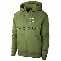 Худи Nike Swoosh FZip HoodSn02 Green - Оригинал