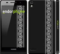 "Чохол на Huawei Ascend P6 Вишиванка 32 ""601c-39"""