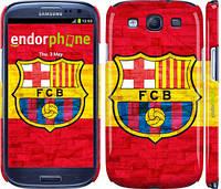 """Чохол на Samsung Galaxy S3 i9300 ФК Барселона 1 """"2301c-11"""""""