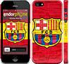 """Чехол на iPhone 5s ФК Барселона 1 """"2301c-21"""""""