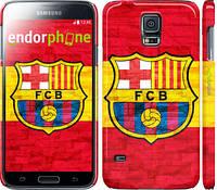 "Чехол на Samsung Galaxy S5 g900h ФК Барселона 1 ""2301c-24"""