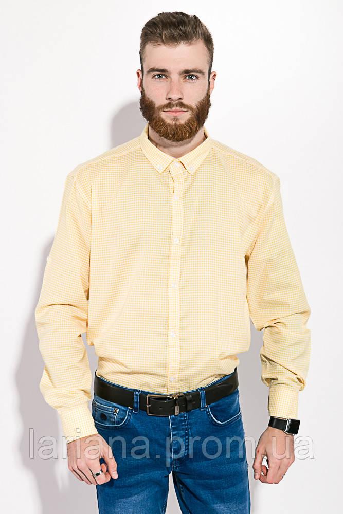 Рубашка 511F006 цвет Желто-белый