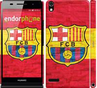 "Чохол на Huawei Ascend P6 ФК Барселона 1 ""2301c-39"""
