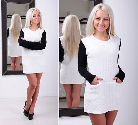Теплое платье «Косичка», фото 2