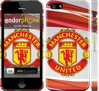"""Чохол на iPhone 5s Манчестер Юнайтед 1 """"329c-21"""""""