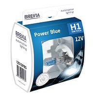 """Автомобильные галогенные лампы """"BREVIA"""" """"Power Blue"""" (H1)(4200K)(12V)"""