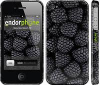"""Чехол на iPhone 4 Черная ежевика """"2873c-15"""""""