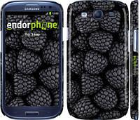 """Чохол на Samsung Galaxy S3 i9300 Чорна ожина """"2873c-11"""""""