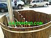 Японская баня офуро из лиственницы мореной