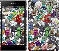"""Чехол на Sony Xperia Z1 C6902 Minecraft 3 """"775c-38"""""""