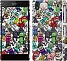 "Чехол на Sony Xperia Z2 D6502/D6503 Minecraft 3 ""775c-43"""