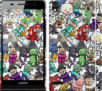 "Чохол на Huawei Ascend P6 Minecraft 3 ""775c-39"""