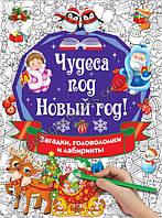 Книга Чудеса под Новый год! Загадки, головоломки и лабиринты