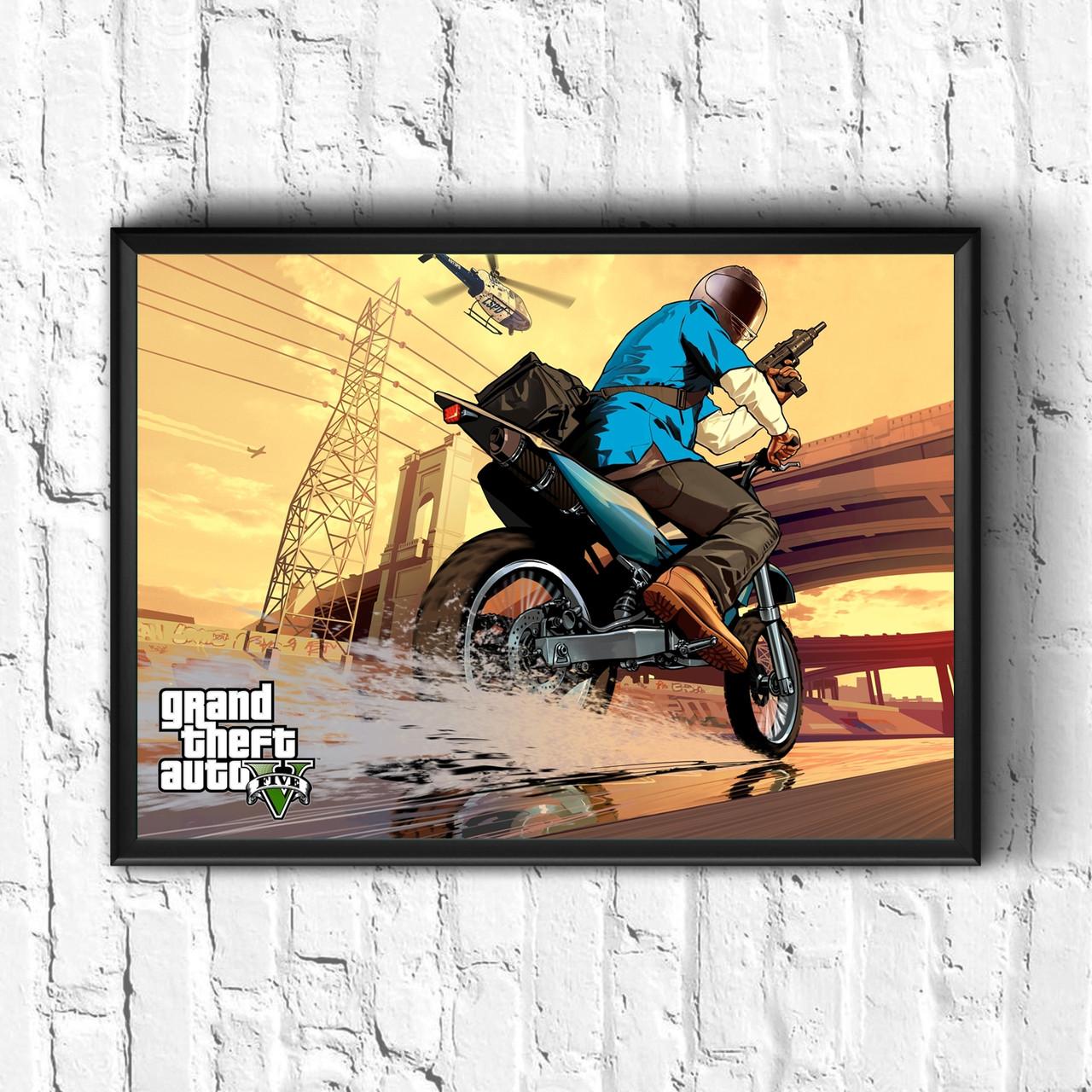 Постер з рамкою GTA #3