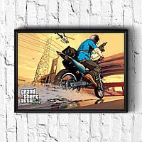 Постер с рамкой GTA #3