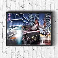 Постер с рамкой GTA #8