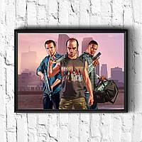 Постер з рамкою GTA #10