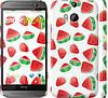 "Чехол на HTC One M8 dual sim Арбуз ""2493c-55"""