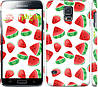 "Чехол на Samsung Galaxy S5 g900h Арбуз ""2493c-24"""