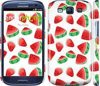 "Чехол на Samsung Galaxy S3 Duos I9300i Арбуз ""2493c-50"""