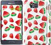 "Чехол на Samsung Galaxy Alpha G850F Арбуз ""2493c-65"""
