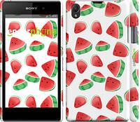 """Чехол на Sony Xperia Z1 C6902 Арбуз """"2493c-38"""""""