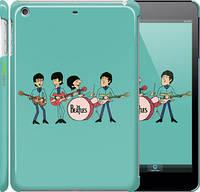 "Чехол на iPad mini Битлз на бирюзовом фоне ""179c-27"""