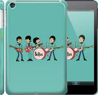 "Чехол на iPad mini 3 Битлз на бирюзовом фоне ""179c-54"""