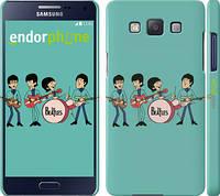 "Чехол на Samsung Galaxy A5 A500H Битлз на бирюзовом фоне ""179c-73"""