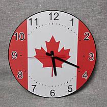 Часы настенные Флаг Канады