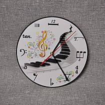 Часы настенные Музыкалка