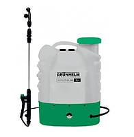 Опрыскиватель аккумуляторный садовый 16 литров Grunhelm GHS -16M