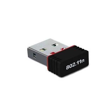 Беспроводный USB мини WiFi адаптер для ПК, ТВ приставок T2, чип Ralink MT 7601