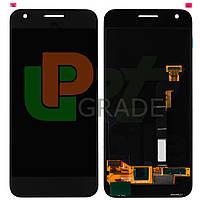 """Дисплей для Google Pixel S1 5.0"""" + тачскрин, серый, Amoled, оригинал (Китай)"""