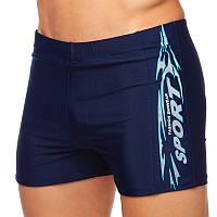 Плавки-шорти чоловічі для купання SPORTДорослі Cпортивні Синій (7089) S