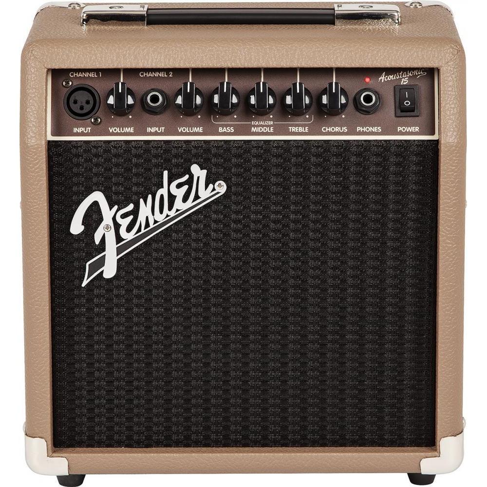 Комбоусилители Fender ACOUSTASONIC 15