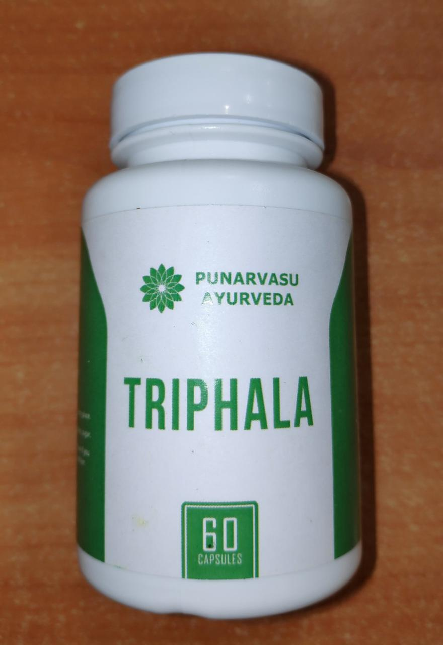 Трифала 60 кап., 300 мг., Омолаживает и очищает