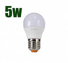 Светодиодная лампа LEDSTAR G45 5Вт E27 460lm 4000К (102900)