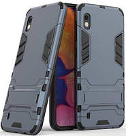 Чехол 1TOUCH Transformer Series Samsung A105 Galaxy A10 Metal slate