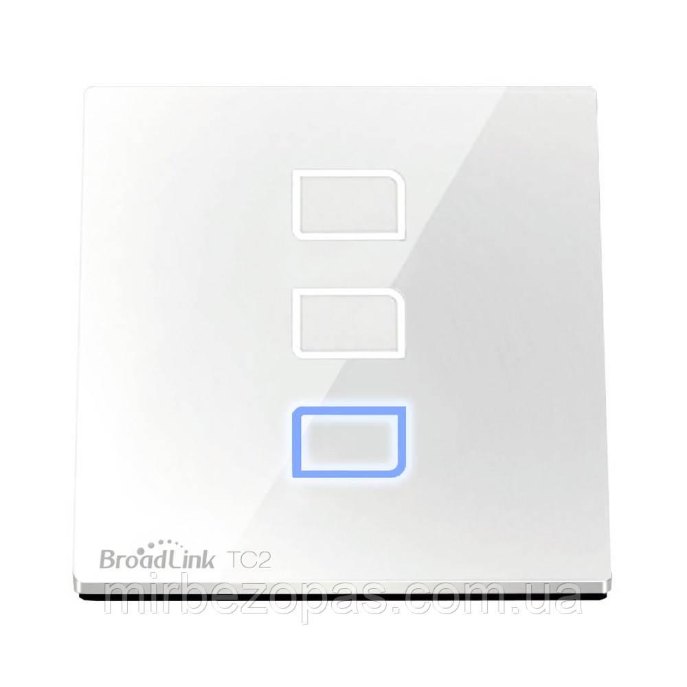 Умный сенсорный выключатель Broadlink TC2-2