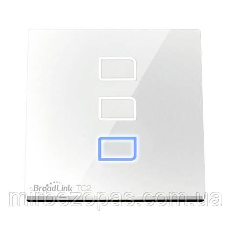 Умный сенсорный выключатель Broadlink TC2-2, фото 2