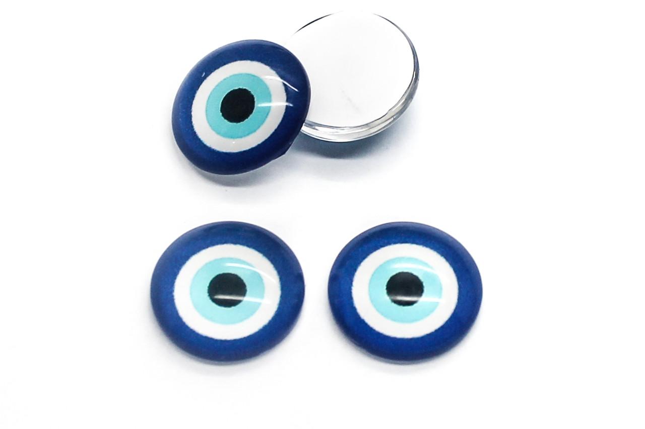 Вічка для іграшок, Діаметр:14 мм, Колір Синій, в упаковці 20 шт