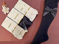 Хлопковые колготки со стразами 3-4 года ТМ Katamino оптом Турция 5489612764089