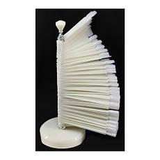 Планшет-палитра Веер для гель-лаков на подставке (120 шт)