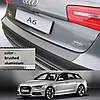 Пластикова захисна накладка на задній бампер для Audi A6 Avant 2011-2014