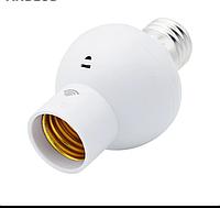 Патрон для ламп с датчиком света и шума