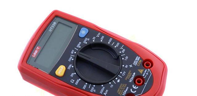 Для измерения Цифровой Мультиметр тестер UNI-T UT33B подсветка Постоянное напряжение Карманный мультиметр    , фото 2