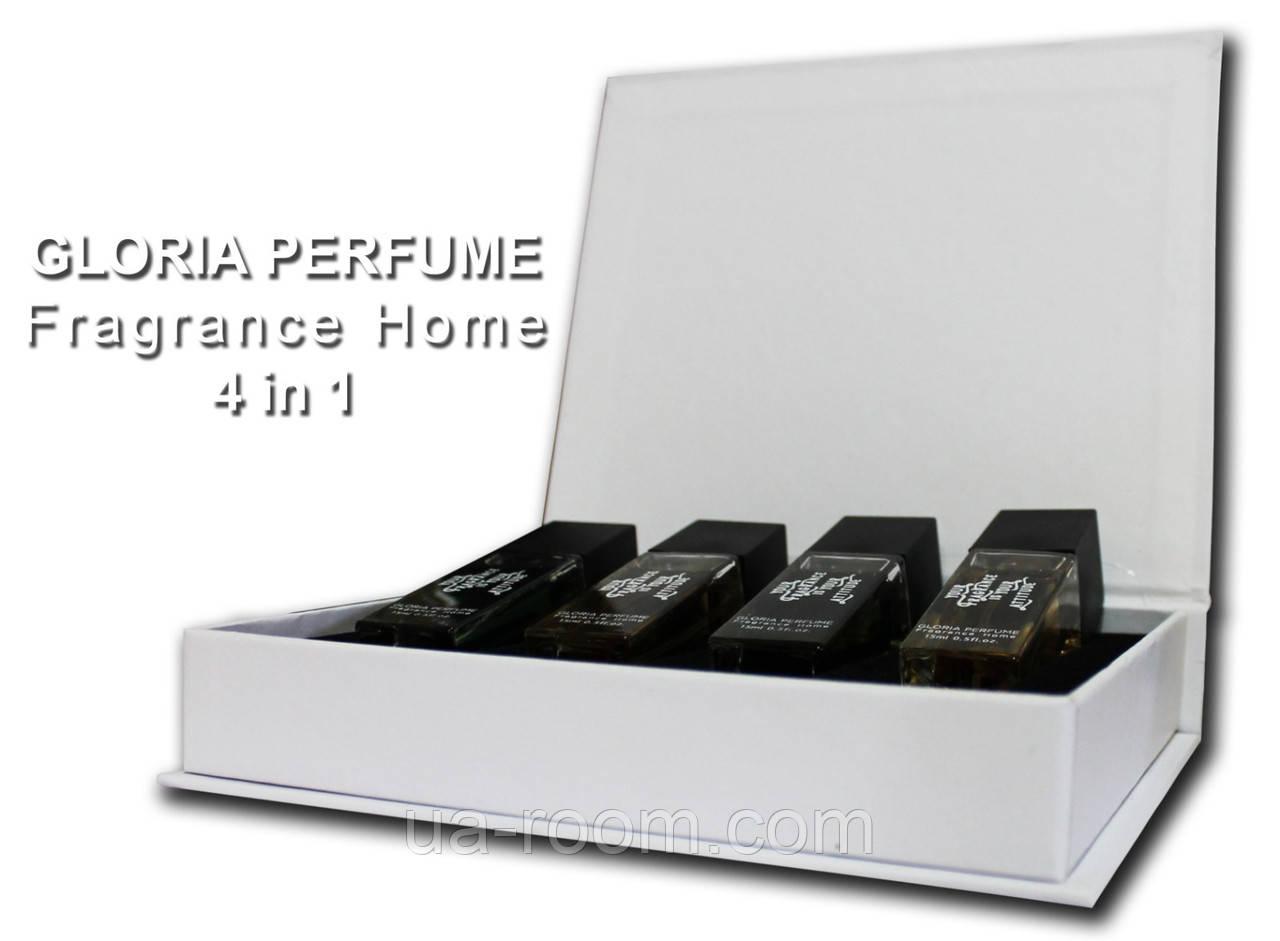 Набор мужских мини-парфюмов Gloria Perfume LEAVE YOUR MARK 4*15 ML (200-201-219-208)